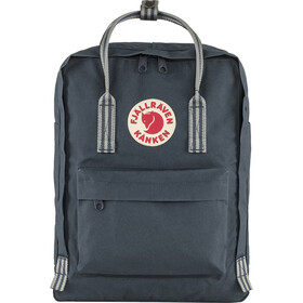 Fjällräven Kånken Mochila, navy/long stripes